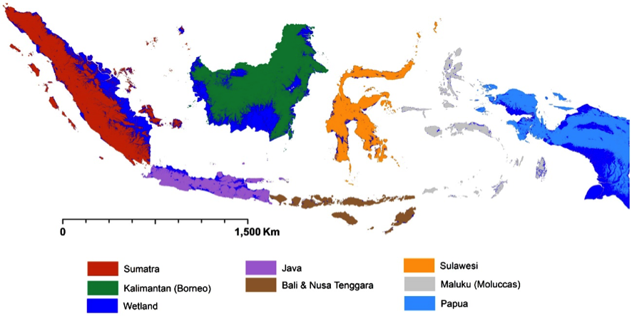 Map Of The Asia Pacific.Wetlands Mapping Support For Asia Pacific Region Glad